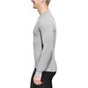 Odlo Men Shirt l/s crew neck WARM grey melange